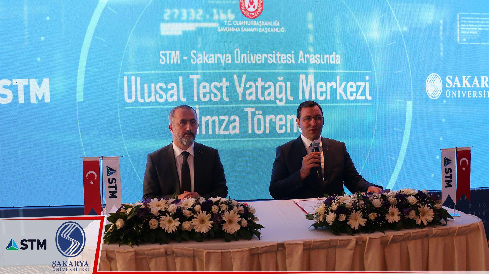 STM ile Sakarya Üniversitesi, Ulusal Test Yatağı Merkezi açıyor