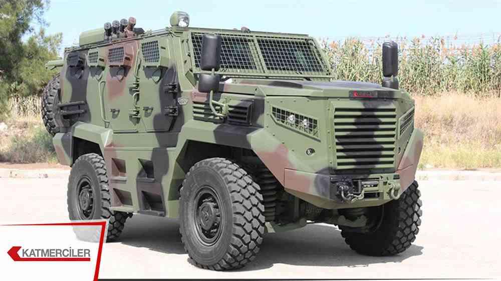 Katmercilerden Kenya'ya 91,4 milyon  $'lık zırhlı araç satışı