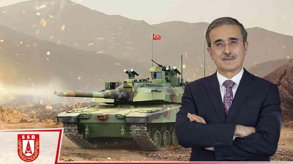 SSB Başkanı İsmail Demir'den, Altay tankı açıklaması