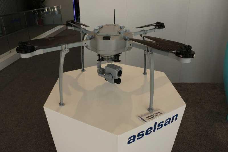 Çok rotorlu insansız uçan sistem Serçe