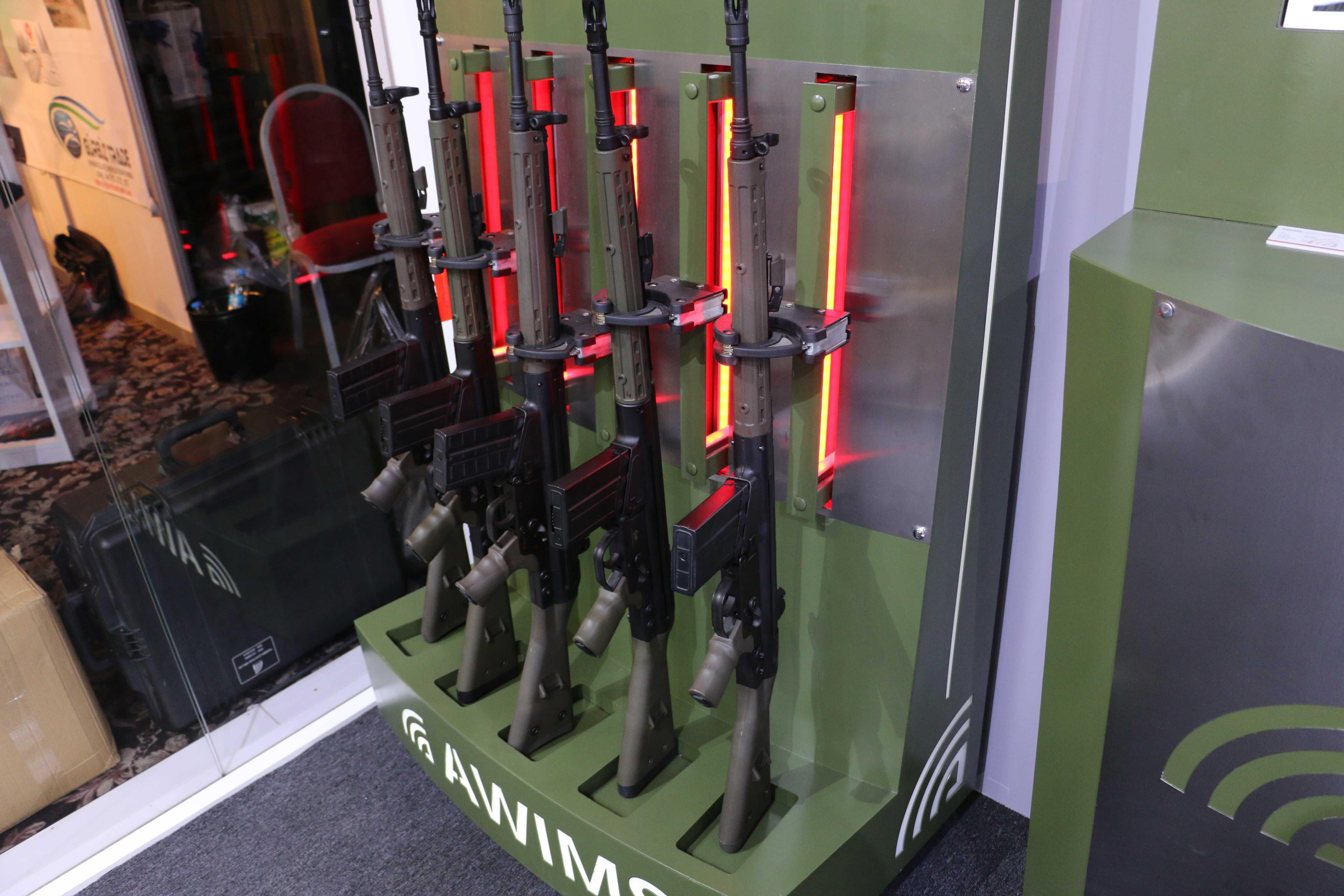 Silah ve envanter yönetim sistemi AWIMS